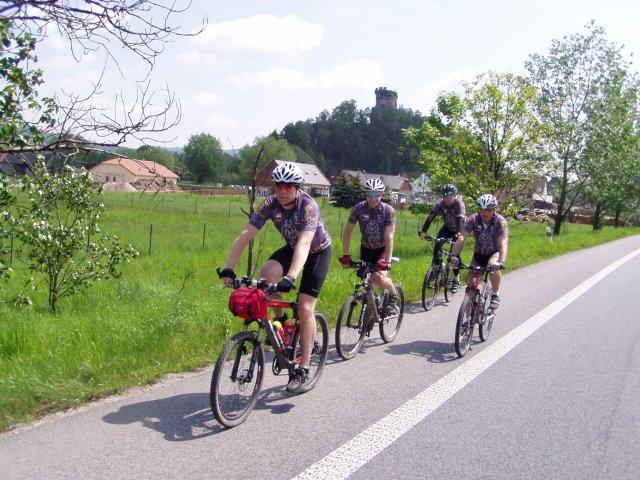 Prohlížíte fotografie z: Cyklotrek na jaře 2008